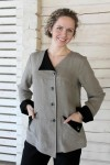 Ladies linen jacket