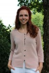 Ladies linen cardigan