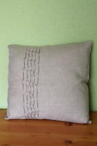 Natūralus lininis pagalvėlės užvalkalas