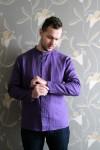 Long Sleeve Linen Men\\'s Shirt