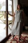 Lininės kelnės - sijonas