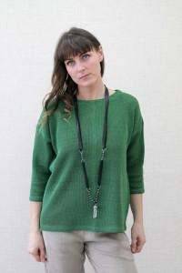 Knitted Linen Top