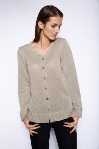 Natūralaus lino megztinis