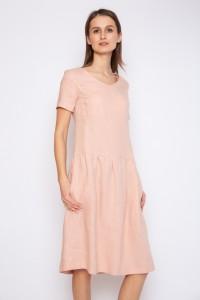 gathered dress
