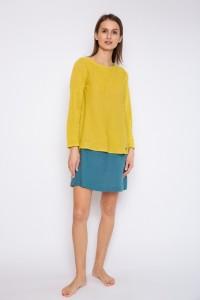 Knitted linen jumper